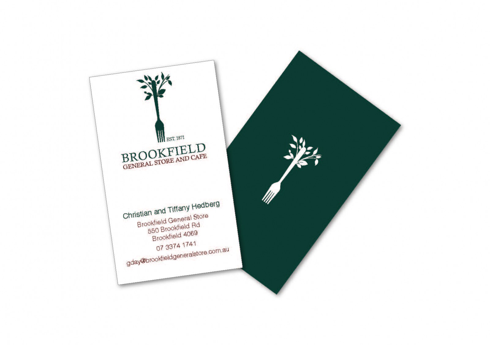 Business Card design for Brookfield General Store