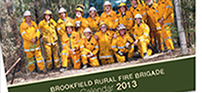 Calendar Artwork for The Brookfield Rural Fire Brigade