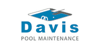 Logo design for Davis Pool Maintenance