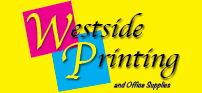 Pull Up Banner for Westside printing and Office Supplies